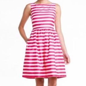 Lilly Pulitzer Fit & Flare Pink/White Dress Sz 8
